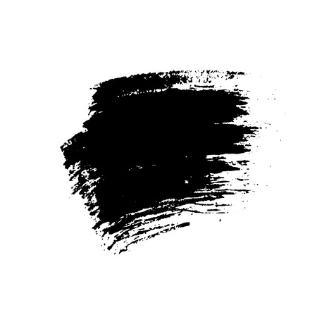 distressed background: Grunge brushes texture white and black. Sketch abstract to create distressed effect. Overlay distress dirty design. Stylish template modern background. Smear prints. Vector illustration