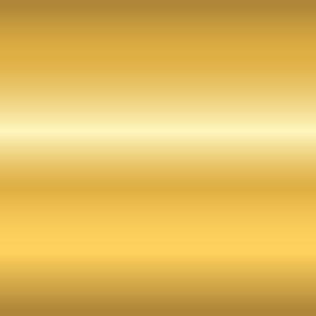 Nahtloses Muster der Goldbeschaffenheit. Licht realistische, glänzende, metallische leere goldene Gradienten Vorlage. Abstrakte Metalldekoration. Entwerfen Sie für Tapete, Hintergrund, die Verpackung, Gewebe usw. Vektor-Illustration. Standard-Bild - 63520600