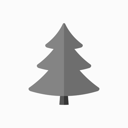 Christmas tree sign simple cartoon icon black template silhouette christmas tree sign simple cartoon icon black template silhouette isolated on white background maxwellsz