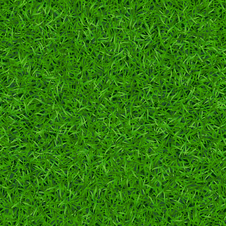 Green grass seamless pattern. Background lawn nature. Abstract field texture. Symbol of summer, plant, eco and natural, growth. Meadow design for card, wallpaper, wrapping, textile Illustration
