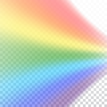 rainbow colors: Rainbow icon. Shape rainbow realistic isolated on white transparent background. Colorful light and bright design element. Symbol of rain, sky, clear, nature. Graphic object Vector illustration