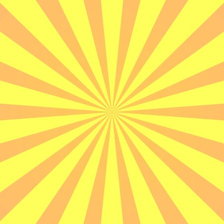 Super-héros fond jaune. Texture de dégradé de dessin animé de super héros. Les rayons du soleil éclatent. Rayonner le rayon de soleil, effet d'éclatement rétro. Boom de flash de lumière de rayon de soleil. Modèle d'affiche de starburst du soleil Illustration vectorielle Vecteurs