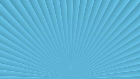 Sun rays background. Blue radiate sun beam, burst effect. Sunbeam light flash boom. Template poster sale. Sunlight star, sunrise glow burst. Solar radiance glare, retro design Vector illustration Ilustração