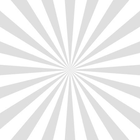 Gray background superhero. Super hero cartoon gradient texture. Sun rays burst. Radiate sun beam, burst effect retro. Sunbeam light flash boom. Template sunlight starburst poster Vector illustration
