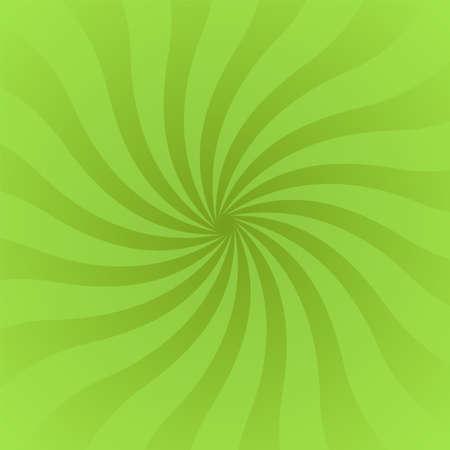 Sun rays background. Green radiate sun beam burst effect. Sunbeam light flash boom. Template starburst poster. Sunlight star, sunrise glow burst. Solar radiance glare retro design. Vector illustration Illustration
