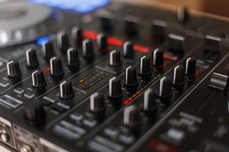 Audio technology. DJ Mixing Controller