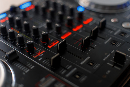 Audio tool for music reduction. DJ controller