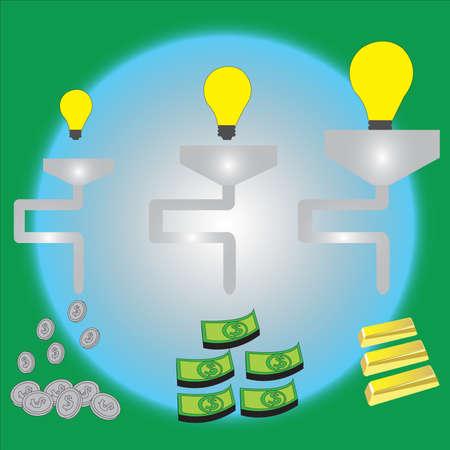 the more idea, the more you gain Vector