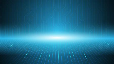 blue circuit server bord background ,technology background,computer developer