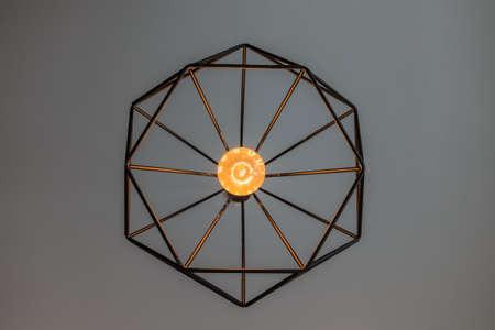 hexagone: Hexagon light-2 Stock Photo