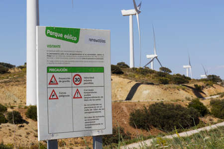 watts: Wind farm in the south of Spain