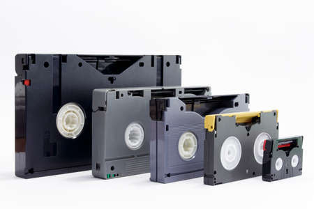 audiovisual: Evolution of professionals video tapes
