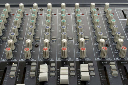 equalize: Analog mixing console