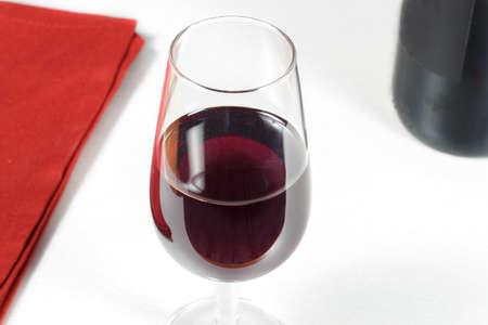 rioja: Wineglass of Rioja Grand Reserve of the year 2004 Stock Photo