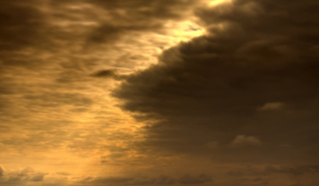 Colorful alarming sky background