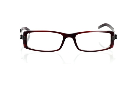 Spectacles on white with shadow Stock Photo - 15825943