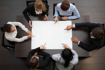 business team planning at meeting
