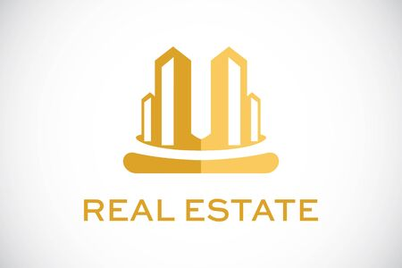 housing project: icon Real Estate Construction Illustration