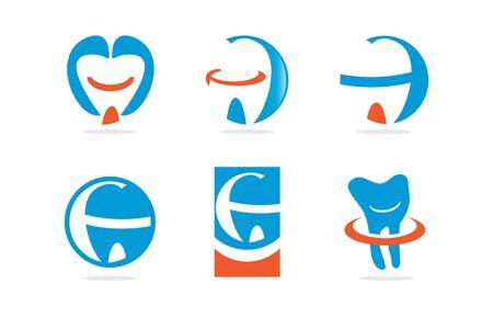 filler: Dientes y Dental Icon Set Vectores