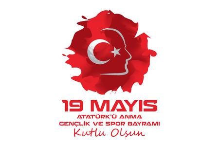 19. Mai Atatürk Gedenken und Jugend und Sport-Tag