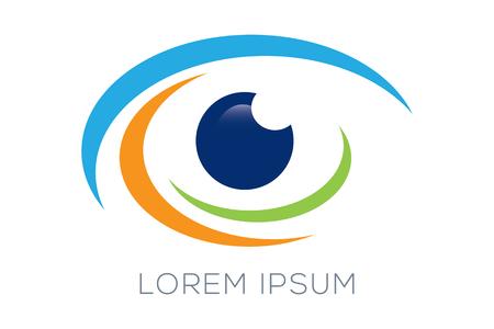blue eye: Eye Logo