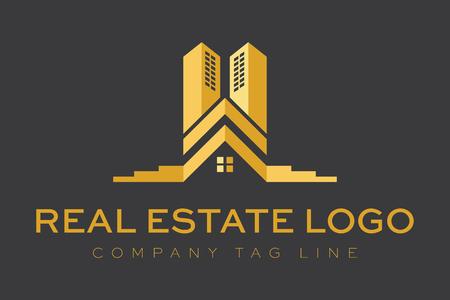 Logo Immobiliare costruzioni Archivio Fotografico - 48369766