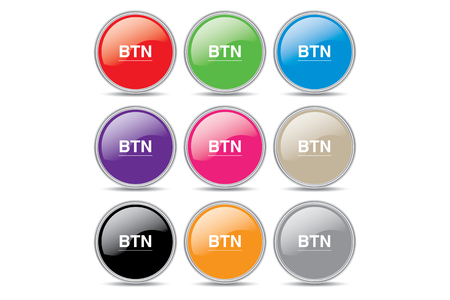 button set: Button Set Illustration