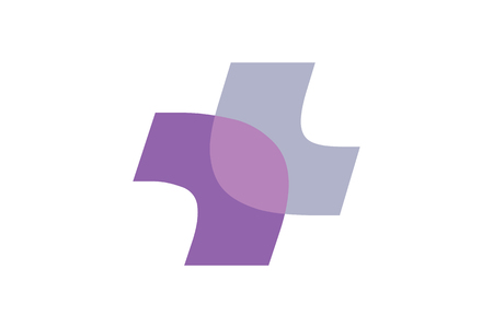The modern logo and symbol.It can be used for medical and health issues. Logo