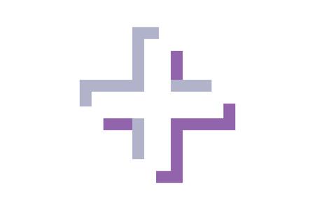 El logotipo moderno y symbol.It se pueden utilizar para temas médicos y de salud. Logos