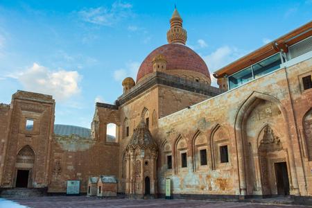 agri: Historical Ishak Pasha Palace and Landscapes Editorial