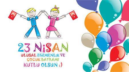 national: 23 de de abril de Soberanía Nacional y el Día del Niño
