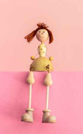 juguetes de madera: Sitting Wooden Toys, Gift Color Baby Dolls..