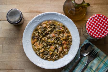 Turkis Traditional Purslane Food  Semizotu