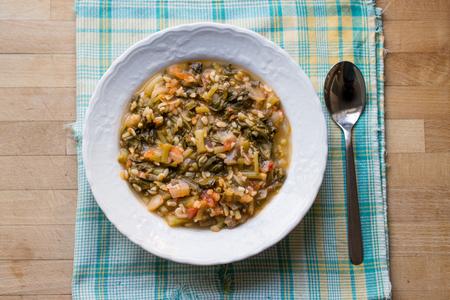 Turkish Traditional Purslane Food  Semizotu.