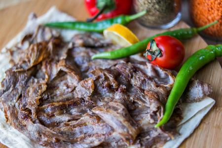 Turkis Food Doner Portion.