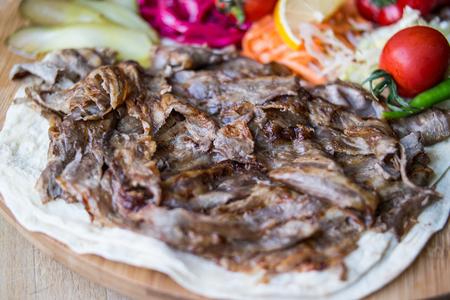 Turkish Food Doner portion
