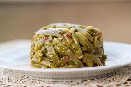 Turkish Traditional Green Beans, Zeytinyagli Fasulye