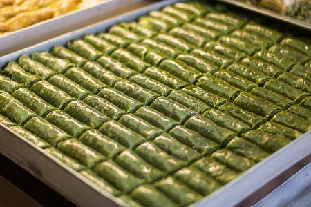 Turkish Pistachio Roll, Fistikli Dolama, Baklava