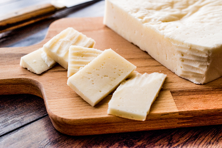 Mihalic peyniri  Turkish Cheese. Organic Food.