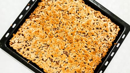 Homemade Apple Pie  Elmali Turta. dessert concept. Stok Fotoğraf