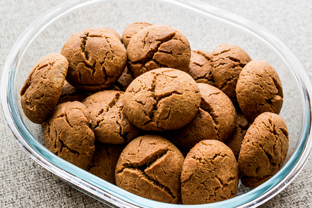 Cookies are made by Siyez Flour (Triticum monococcum). Organic Food