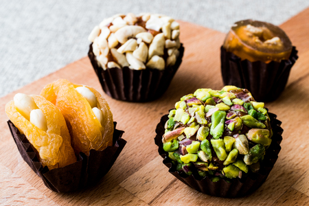 Mix Stuffed Fruits with Dried Apricot, pistachio, almond and fig. organic food