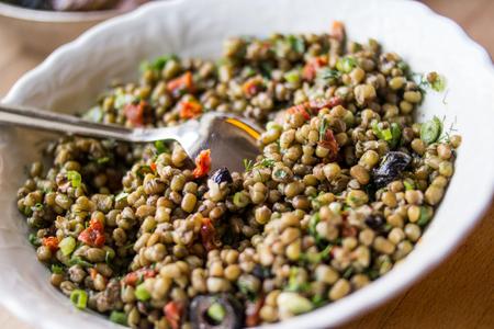 Turkish Mung Beans Salad  Mas Basil Salad  Salad
