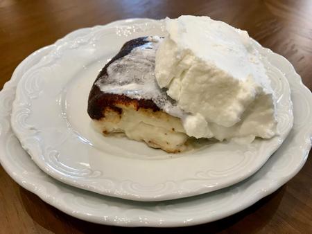 Turkish Traditional Dessert Kazandibi / Milk Pudding with butter cream. Traditional Dessert.
