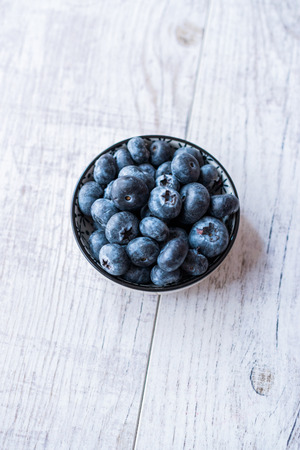 Blueberries / Fresh Raw Organic Berries or Blueberry Ready to Eat.