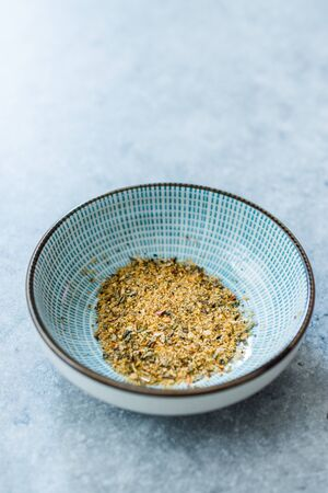 Dry Organic Pizza Seasoning Spice with Basil and Oregano Ready to Use and Eat  Dried Spices.