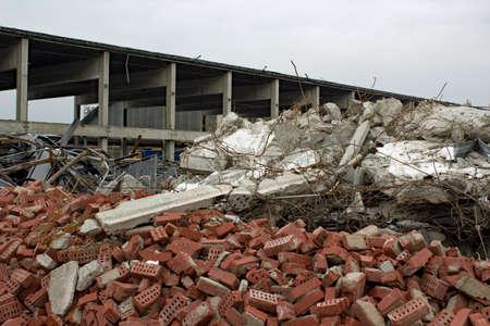 zona: �rea De Construcci�n Foto de archivo