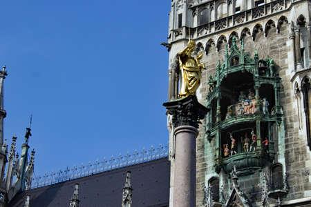 town halls: Munich Marian Column