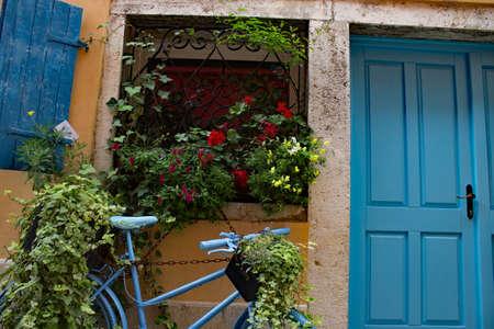 Streets of Roviny Istria - Old town Reklamní fotografie