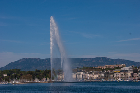 waterscapes: geneve,swiss
